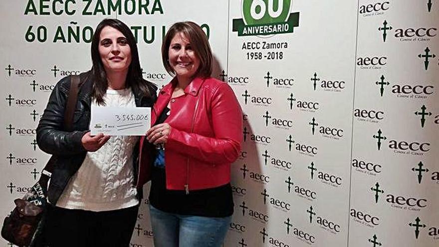 La caminata contra el cáncer de Castro recauda 3.545 euros