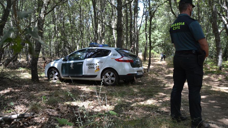 La Guardia Civil disuelve un botellón de 40 jóvenes en Castro de Sanabria