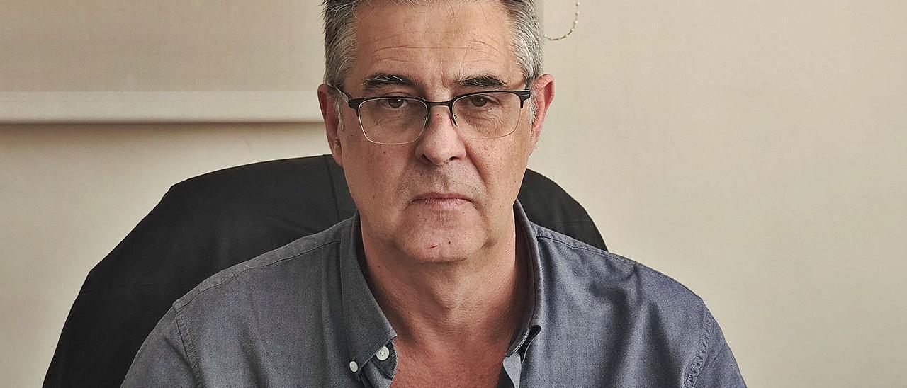 David Navarro es jefe de Microbiología del Hospital Clínico y responsable del Programa Valenciano de Investigación Vacunal. |