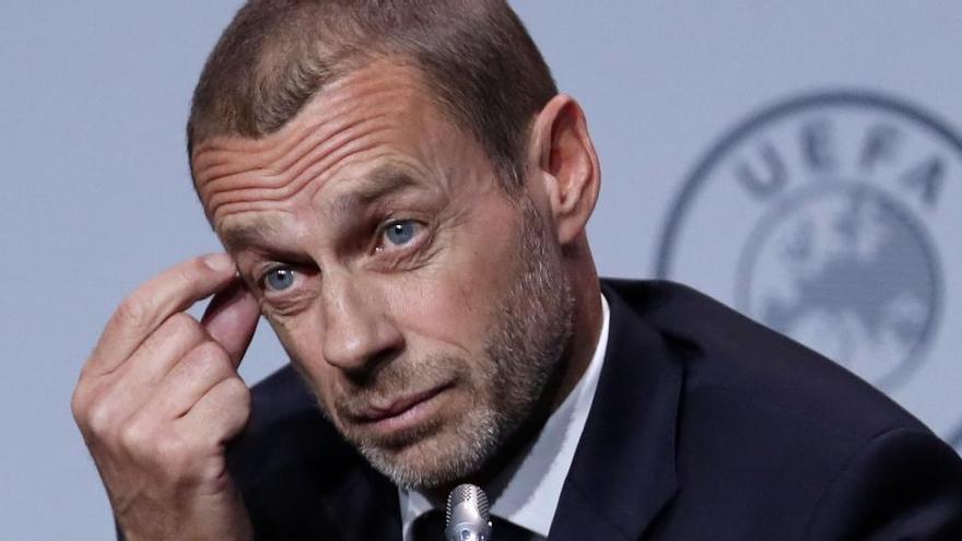 La UEFA neteja el calendari de partits de seleccions però no aclareix cap data