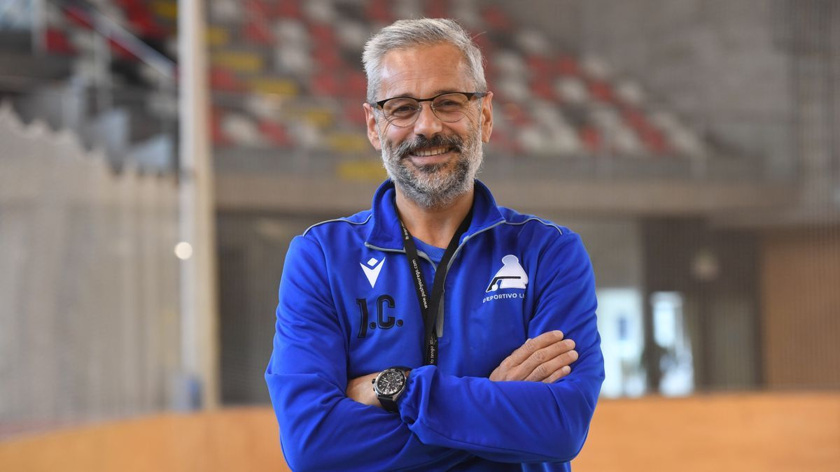 Juan Copa, técnico del Liceo