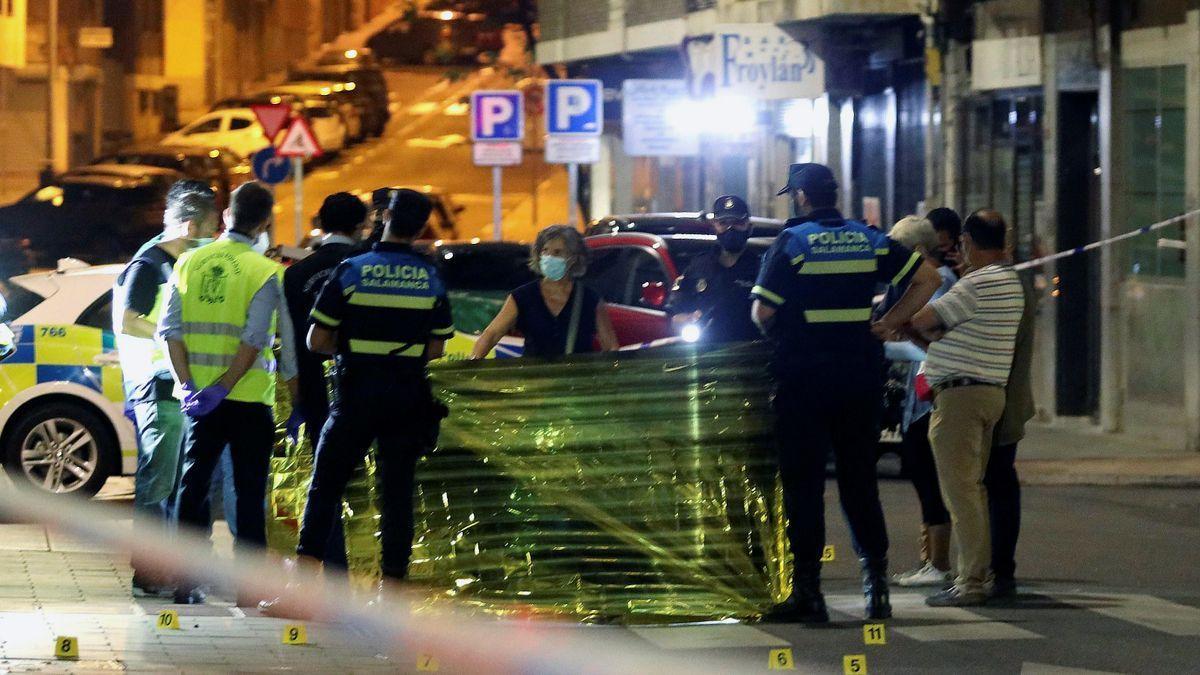 Un hombre muerto y una mujer grave en un tiroteo ocurrido en Salamanca.