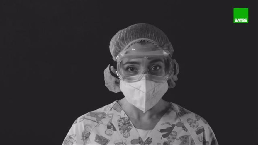 Enfermeras de Castellón llaman a protegerse frente al covid
