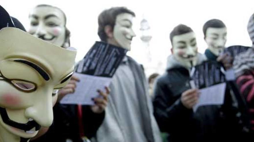 Anonymous ataca webs oficiales del Reino Unido