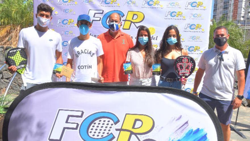 Los tinerfeños Javier Pérez y Víctor Sáenz conquistan el título en el Regional Absoluto
