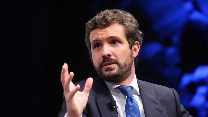"""Casado exige a Sánchez que actúe en Ceuta para """"preservar la frontera y la soberanía nacional"""""""