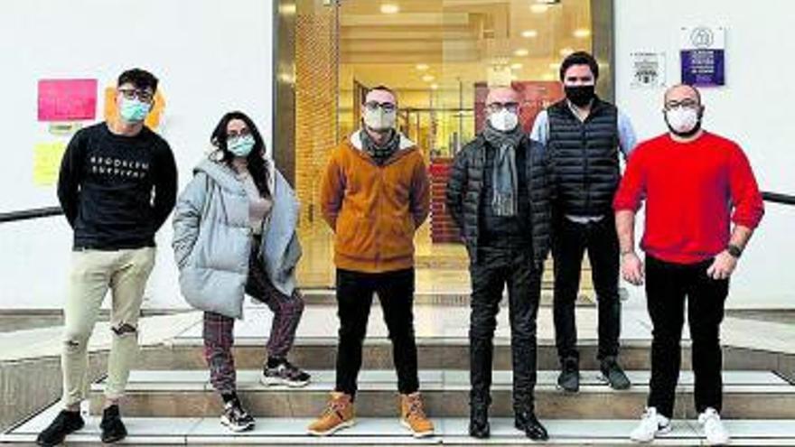 Cuatro jóvenes en el Cuerpo Europeo de Solidaridad