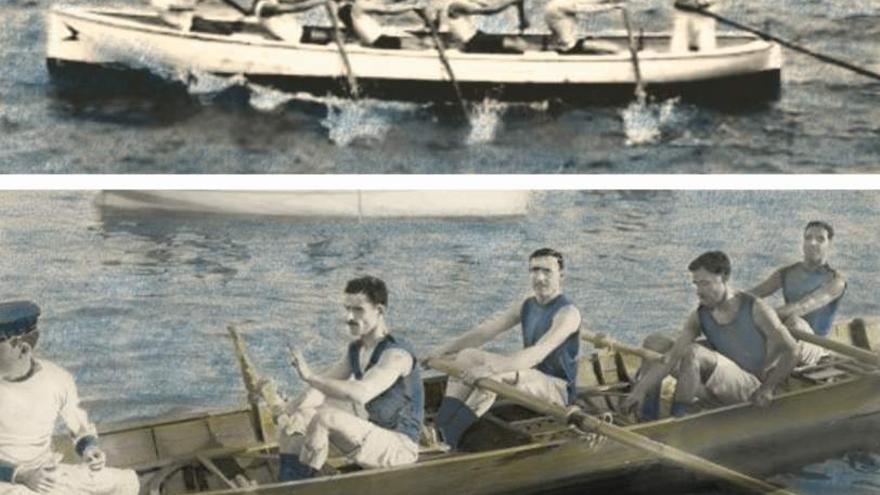 Alicerces dos deportes náuticos en Cangas (IV)