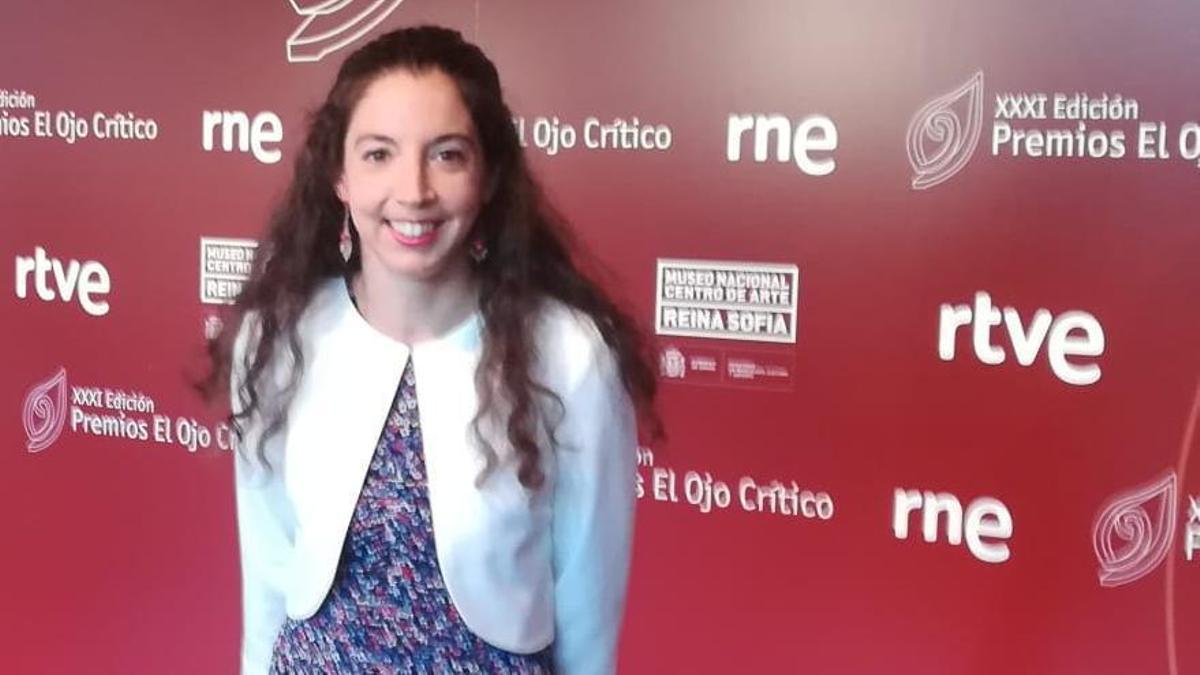 La poetisa Raquel Álvarez.