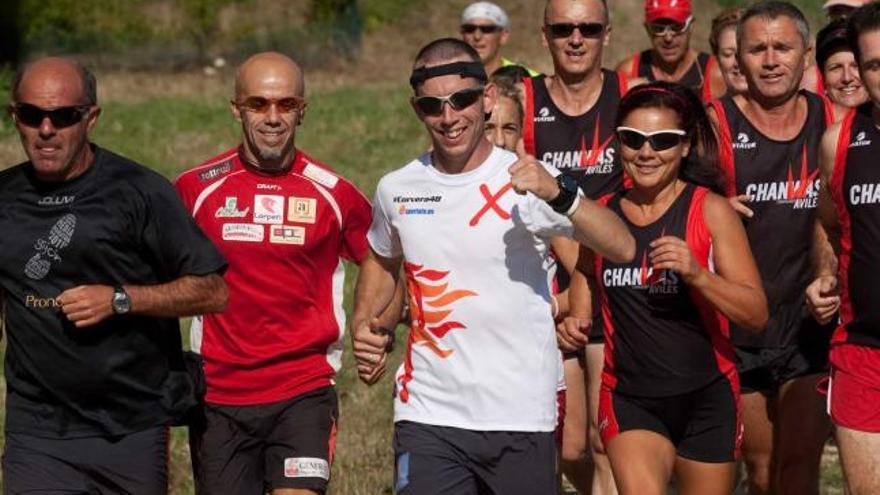 Madriñán piensa en nuevos retos sin dejar de correr en Corvera
