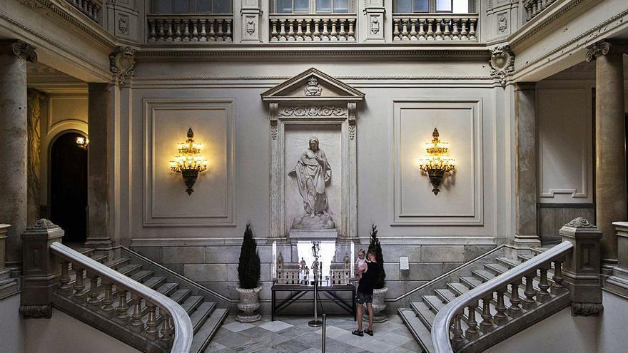 La escultura religiosa que rememora la victoria franquista