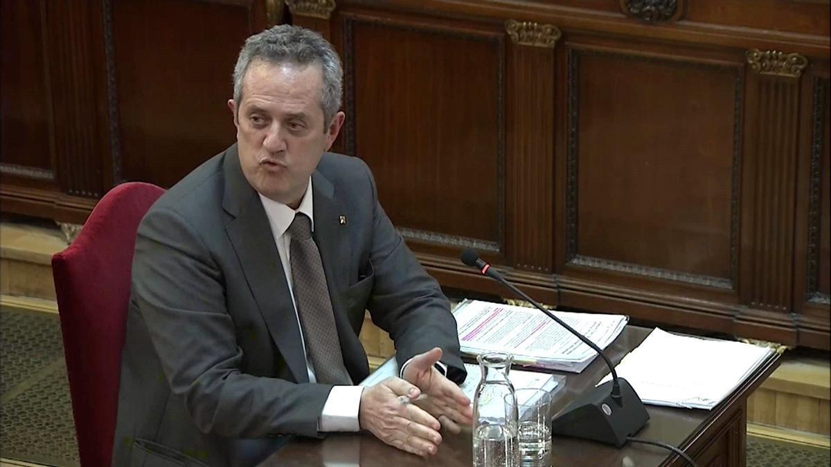 Joaquim Forn declara en el Tribunal Supremo