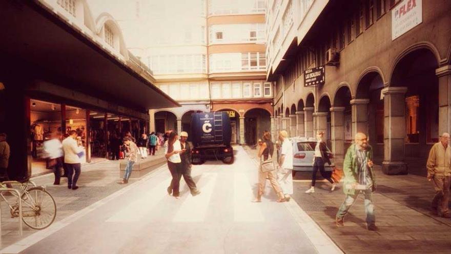 La reforma del entorno del mercado de San Agustín cuenta con el visto bueno de Patrimonio