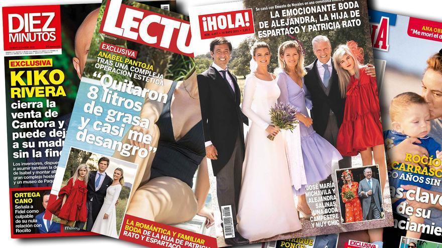 El toque asturiano en la boda de la hija de Espartaco