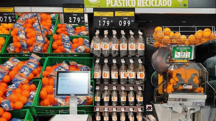 Mercadona apuesta por la economía circular con su nueva botella para zumo exprimido