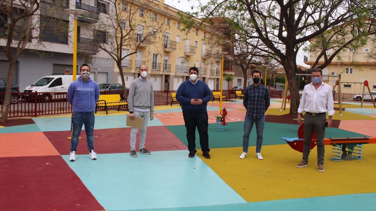 Nules estrena un parque para los niños