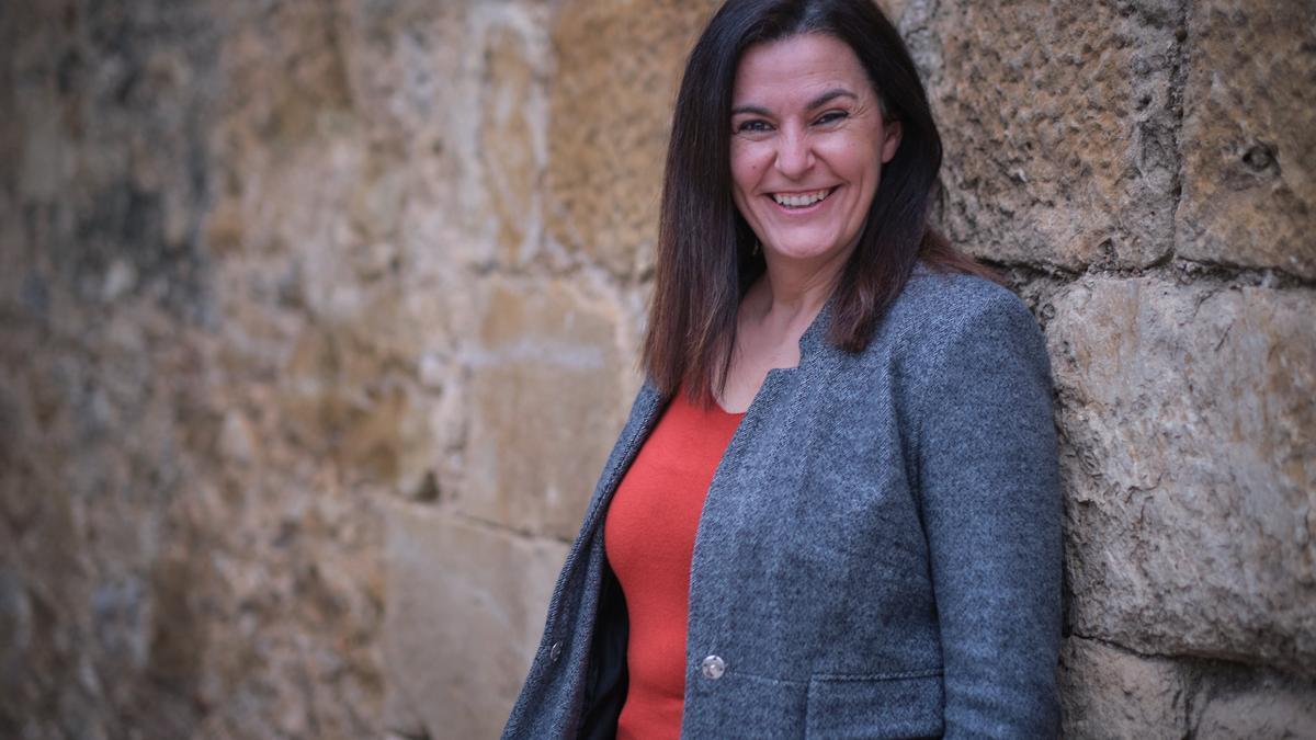 Anna Torrentà, alcaldessa d'Ordis.