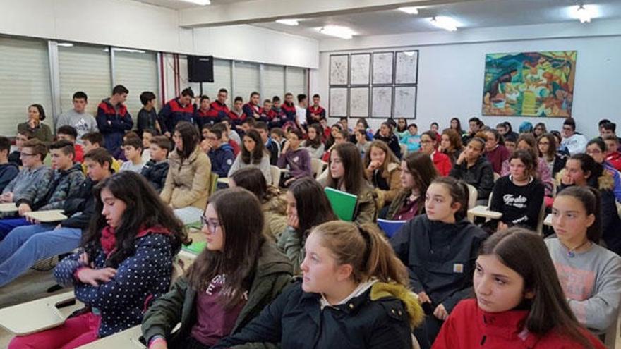 Escolares contra la violencia de género