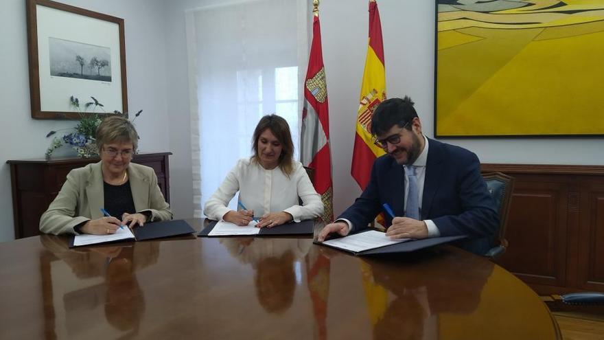 Alumnos del Maestro Haedo y la Universidad Laboral de Zamora recibirán formación financiera