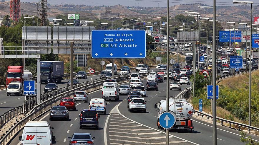 Complicaciones en la salida de Murcia durante la 'Operación Retorno'