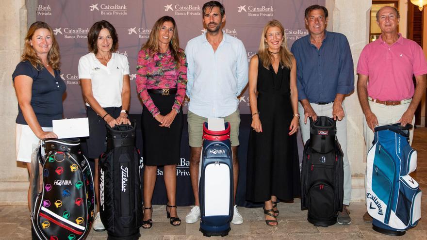 El 'Torneo CaixaBank Banca Privada Golf Cup 21' se ha celebrado en el Alcanada Golf