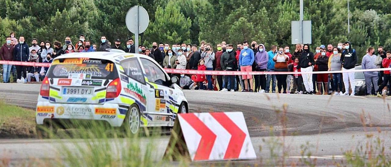 Un tramo de la prueba en la que ganó Víctor Senra.   | FOTOS: FDV
