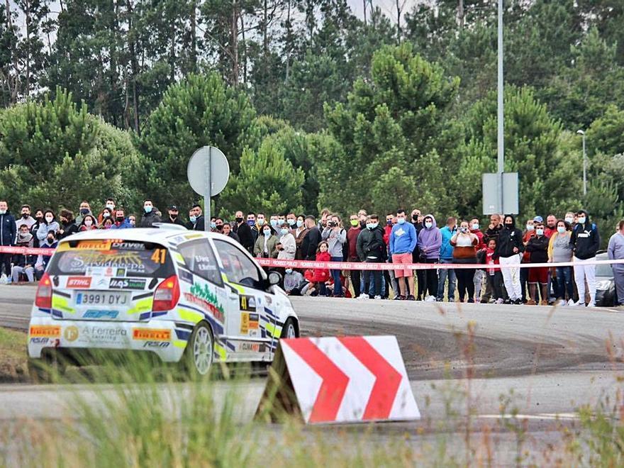 El rally de Pontevedra ruge en memoria de Víctor Magariños