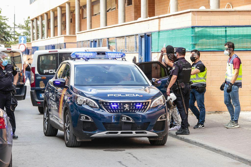 Intervención policial. Menudeo, gallos y tortugas en Ministriles, Lorca-3636.jpg