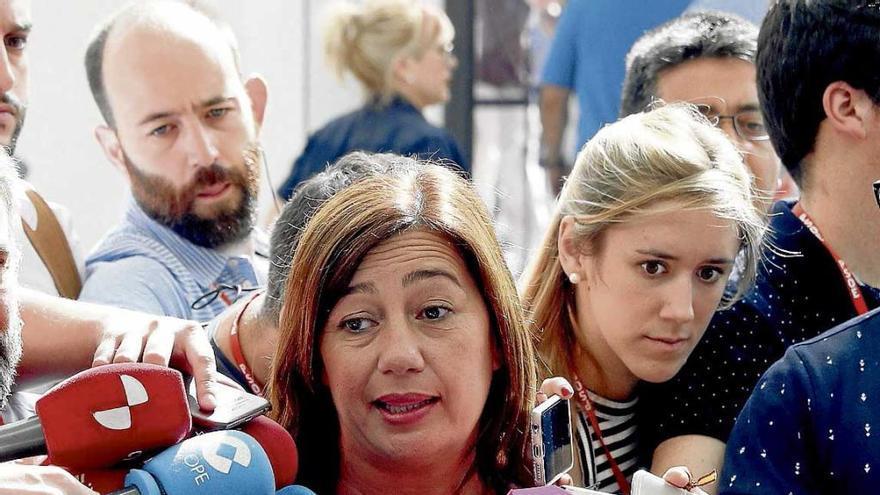 Armengol cuela en el último segundo a Torres en la ejecutiva de Pedro Sánchez