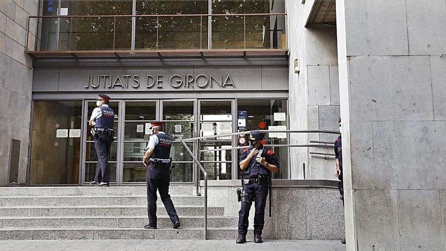 La càrrega de feina als jutjats de Girona supera la mitjana espanyola