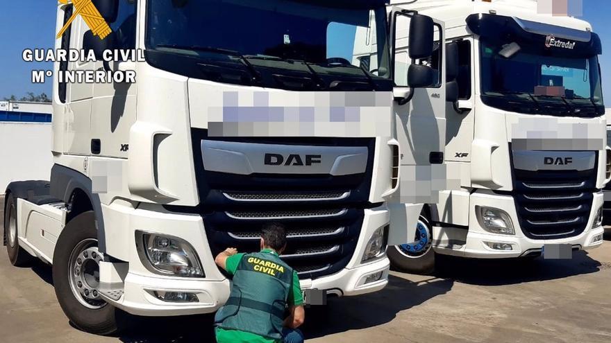 Instruidas diligencias por una manipulación fraudulenta del tacógrafo de camiones
