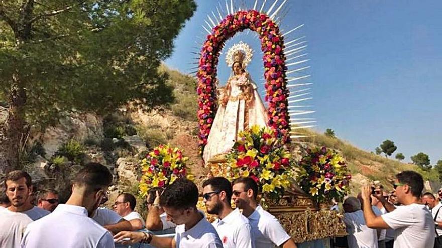 Cieza trasladará a la patrona al santuario sin la tradicional romería