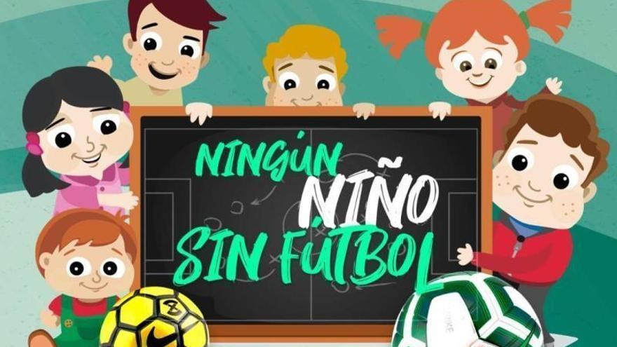 Coronavirus: la Federación Andaluza lanza la campaña 'Ningún niño sin fútbol'