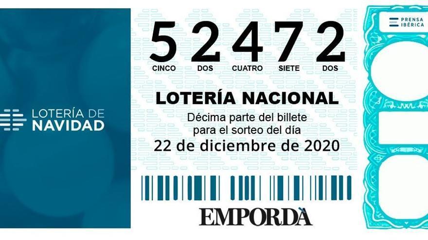 El tercer premi (52472) reparteix 7,5 milions a Ripoll i 500.000 euros a Anglès