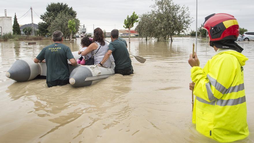 Orihuela, Almoradí, Dolores y Callosa acaparan el 40% de las ayudas del Consell de este año para proyectos de obras contra inundaciones