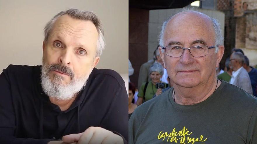 Miguel Bosé y Josep Pàmies unen sus voces contra la vacuna en Lleida