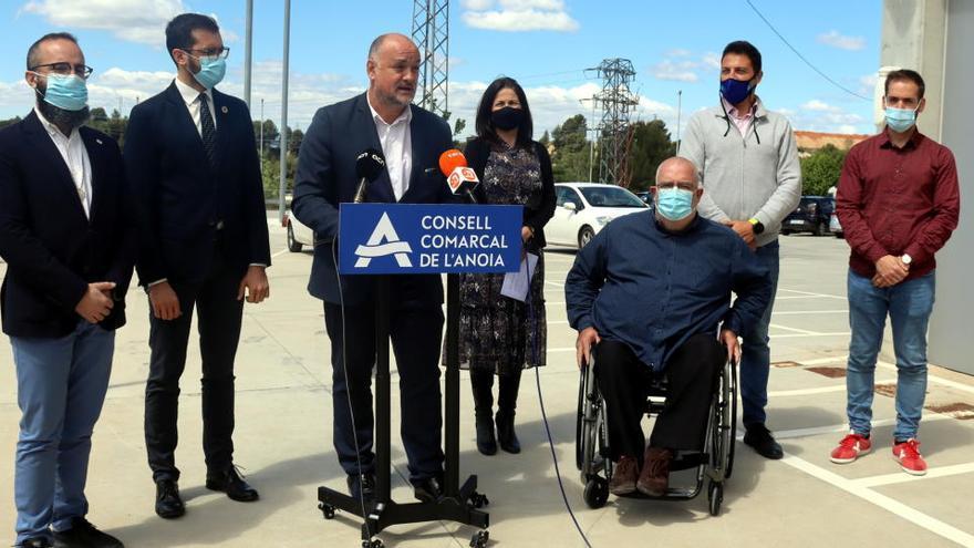 Invertiran 2,1 milions d'euros a l'Anoia per crear àrees de testatge del vehicle connectat i autònom