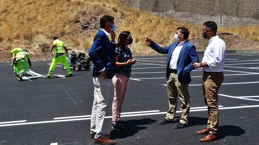 Servicios Públicos habilita un total de  28 aparcamientos en la zona de Las Indias