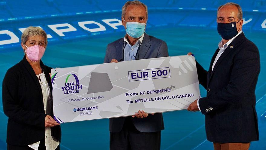 El Deportivo dona al Oncológico la recaudación del Juvenil-Pogon