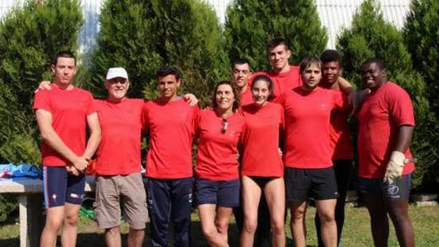 El Club Atletismo Poio organiza su décimo torneo de lanzamientos