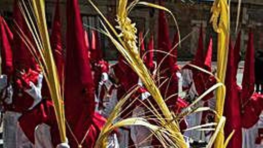 La Borriquita, de blanco y rojo, inaugura los actos en Villaralbo