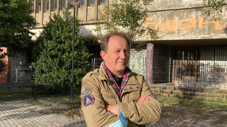 """Roberto González: """"Defender el Hogar de Ceares es luchar contra el abandono de La Tejerona"""""""