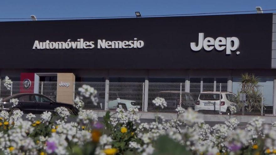 Automóviles Nemesio es el concesionario oficial de Jeep en Valencia
