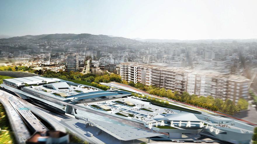 Morphosis transforma  la estación de AVE Vialia Vigo