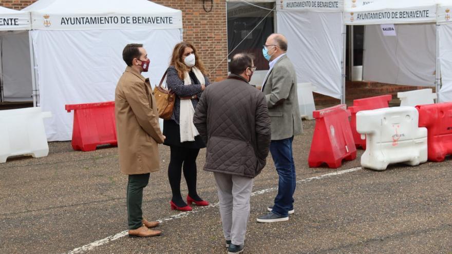 Todas las pruebas PCR en Benavente se realizarán en el antiguo Mercado de Ganado