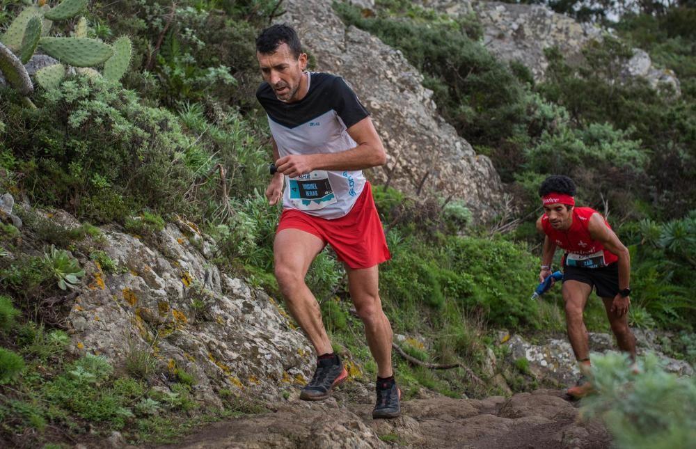 Miguel Heras, ganador del K42