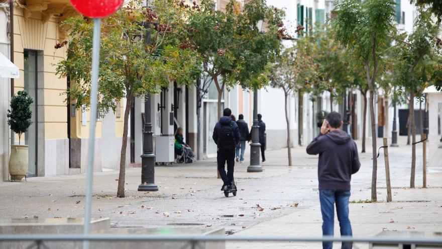 Estos son los sitios por los que no podrán circular los patinetes en Sant Antoni