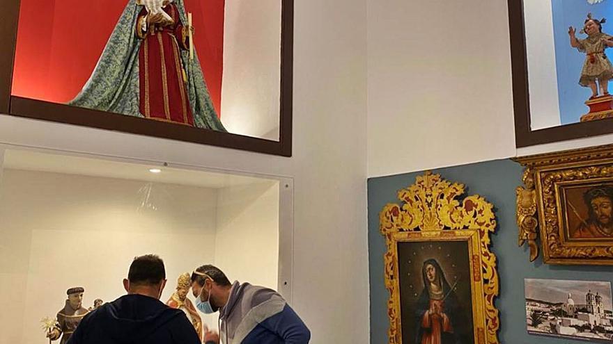 La nueva sala expositiva reivindica el valor del arte sacro en la Candelaria
