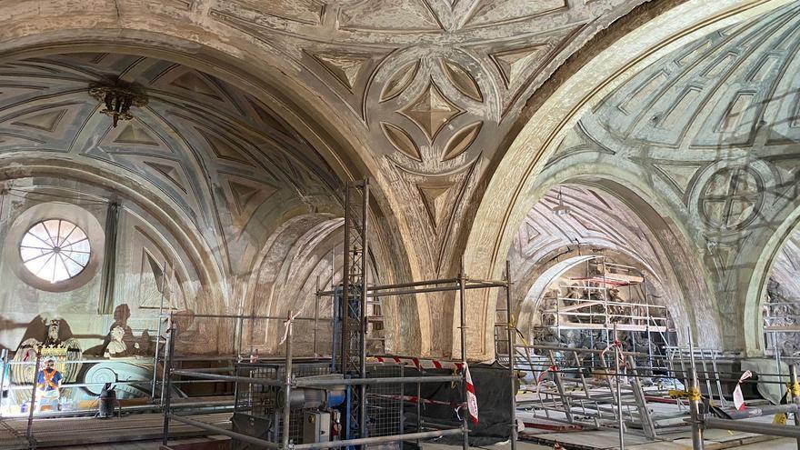 FOTOGALERÍA | Calatayud prevé reabrir la Colegiata de Santa María en marzo de 2022, tras más de una década cerrada