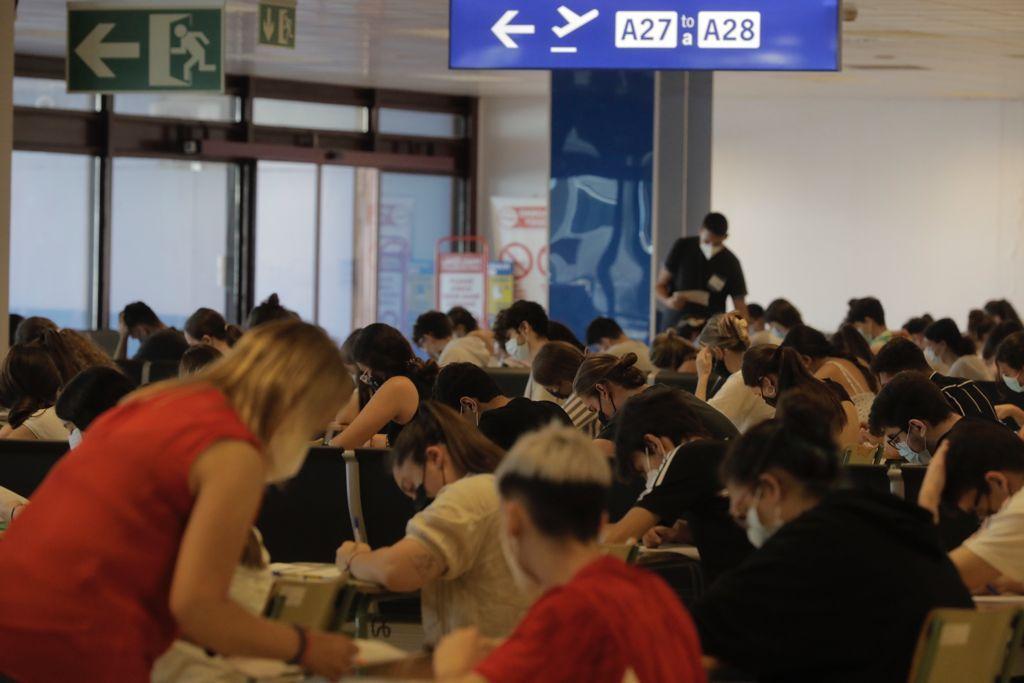 Empieza la Selectividad 2021 en Mallorca